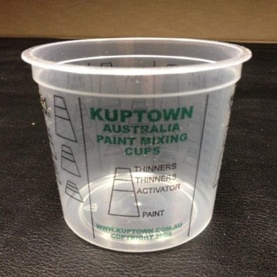 KupTown Calibrated Mixing Cups 375ml