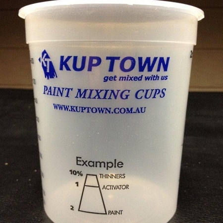 KupTown Calibrated Mixing Cups 1L
