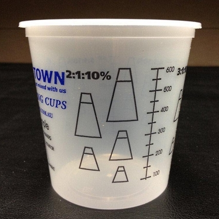 KupTown Calibrated Mixing Cups 750ml